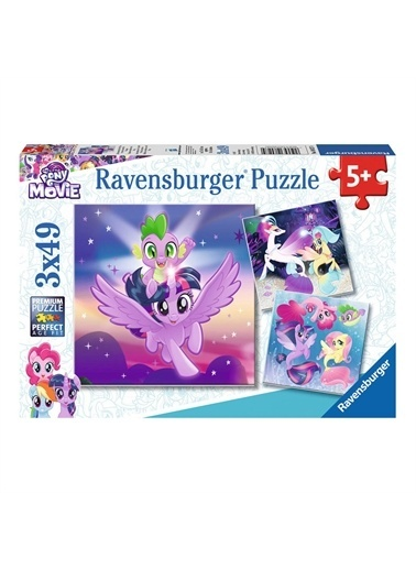 Ravensburger Puzzle 3x49 Parça My Little Pony 80274 Renkli